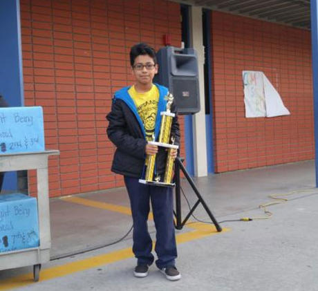 First Place Winner! CUSD Annual Spelling Bee- 5th Grade